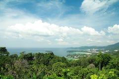 Phuket beach viewpoint Royalty Free Stock Photo