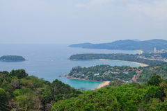 Phuket. Beautiful view of the Phuket island Stock Image