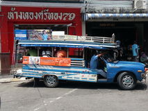 Phuket bus Royalty Free Stock Image
