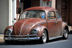 Phuket City, Thailand: Vintage Volkswagen Car Royalty Free Stock Photos