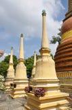Phuket City, Thailand: Wat Mongkhol Chedis Royalty Free Stock Photography