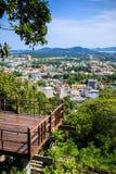 Phuket city view point at Rang hill, Thailand Stock Photo