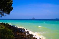 Phuket coastline. Turquoise seas on the Phuket coastline Stock Images