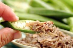 Phuket Dried Fish Paste Chili Sauce (Nam Phrik Pr Stock Photography