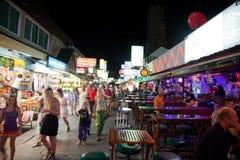 Phuket en la noche foto de archivo libre de regalías