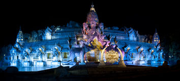 Phuket FantaSea Palace of the Elephants Theater, Phuket Thailand Stock Photos