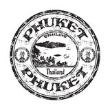 Phuket grunge rubber stamp Royalty Free Stock Images
