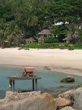Phuket - het huis van de Geest op het strand Royalty-vrije Stock Foto's