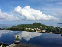 Phuket-Insel-Ansicht, Thailand Lizenzfreies Stockfoto
