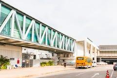 Phuket internationell flygplats på DECEMBER 16, 2015 Arkivbild