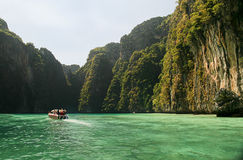 Phuket island. Crystal clear water in Phuket, Thailand Stock Images
