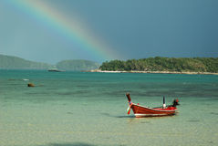 Phuket island. Rawai is one of the beutiful beach in Phuket island, Thailand stock images