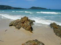 Phuket Island coastline Royalty Free Stock Photos