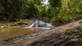 Phuket island day light famous ton sai waterfall 4k time lapse thailand stock footage