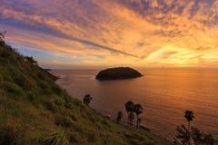 Phuket Island sunset Royalty Free Stock Images