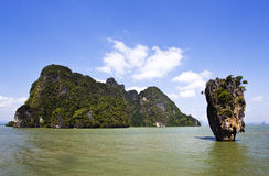 PHUKET JAME BUND ISLAND. The Jame Bund island in Phuket Royalty Free Stock Photos