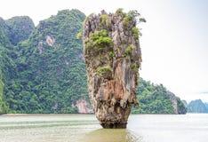 Phuket James Bond island Phang Nga Royalty Free Stock Photography
