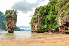 Phuket James Bond island Phang Nga, Thailand Stock Image