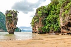 Phuket James Bond island Phang Nga, Thailand Stock Image