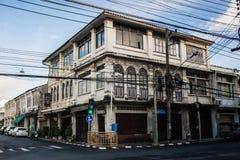 Phuket  - 15 JUL 2016  Building in Sino Portuguese style Stock Photography