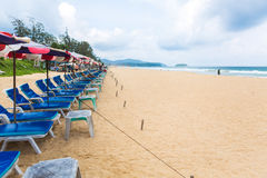 PHUKET - JUNE 7 :  Tourists spend their  holiday on JUNE 7, 2014 Royalty Free Stock Images
