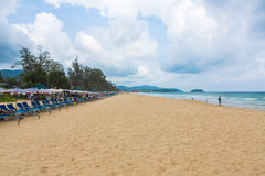 PHUKET - JUNE 7 :  Tourists spend their  holiday on JUNE 7, 2014 Stock Image