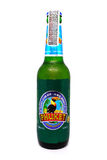 Phuket lager beer isolated on white background. Phuket beer is a brand in Thailand. Stock Photos
