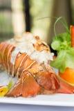 Phuket lobster thermidor stock photo