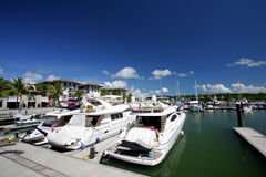 Phuket Marina. Phuket island Marina in Thailand Stock Photo
