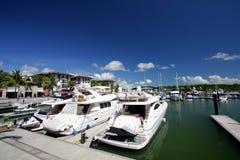 Phuket Marina. Phuket island Marina in Thailand stock photo