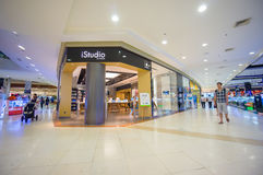 Phuket, 22 May 2014: First floor of Central Festival mall with c Stock Photo