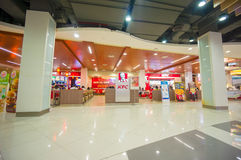 Phuket, 22 May 2014: First floor of Central Festival mall with K Stock Images