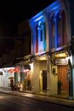 Phuket miasteczko przy nocą fotografia royalty free