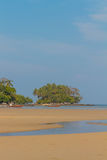 Phuket nai yang beach at low tide Stock Image