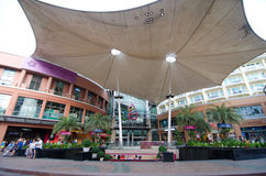 Phuket - October 27 : Jungceylon shopping mall in Patong beach o Royalty Free Stock Photo