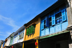 Phuket. Old building in phuket, Thailand Stock Image