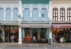 Phuket old town area Phuket, Thailand. Royalty Free Stock Photography