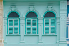 Phuket Old Town Chino Portuguese Style Building Stock Image