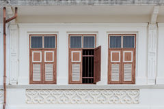 Phuket Old Town Chino Portuguese Style Building Royalty Free Stock Images