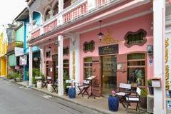 Phuket old town, Thailand Stock Image
