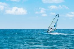 Free Phuket Patong Beach Windsurfing Sport In Hot Summer Sun Royalty Free Stock Photography - 125444437