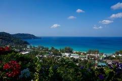 Phuket przegląd od Karon Zdjęcia Stock