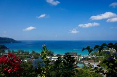 Phuket przegląd od Karon Fotografia Royalty Free
