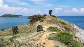 Phuket punkt widzenia przylądka hdr wyspa Phuket przetwarzał promthep strzału Thailand vertical obrazy royalty free