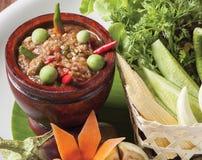 Phuket shrimp chilli paste Royalty Free Stock Images