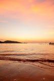 Phuket solnedgång Royaltyfri Bild