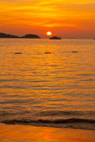 Phuket-Sonnenuntergang Stockbild