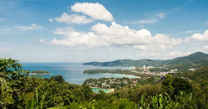 Phuket-Standpunkt timelapse stock footage