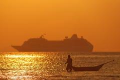 Phuket-Strandansicht stockfotos
