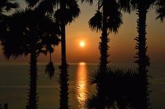 Phuket. Sunset at Phuket island/Thailand royalty free stock photography